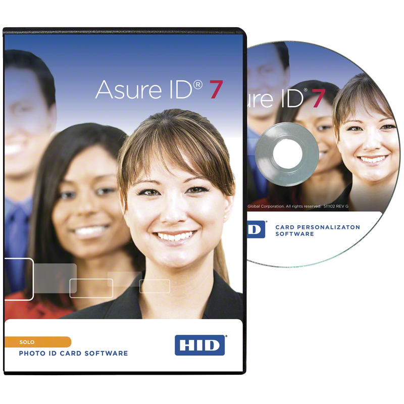 Asure id solo credential management and personalization for Asure id templates