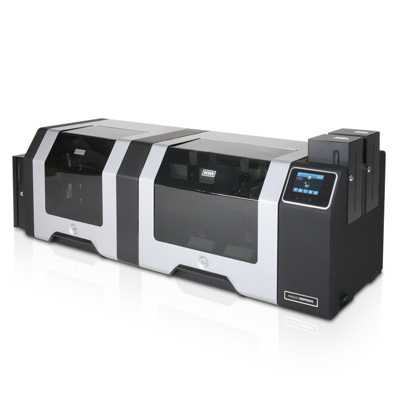 fargo hdp8500 industrial government id card printer