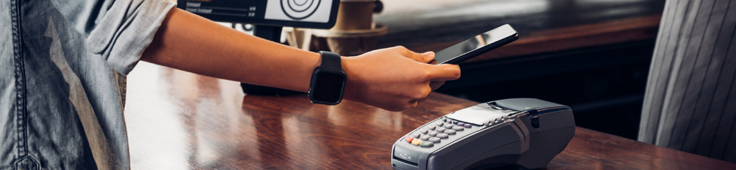 paying for purchase with mobile phone