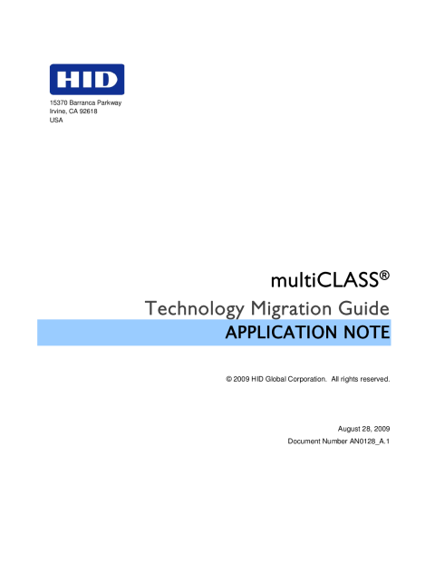 multiclass_technologymigrationguide_an_en hid� multiclass� rp40 reader hid global hid multi class se rp40 wiring diagram at bayanpartner.co
