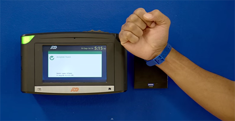 time and attendance solutions biometric time clock