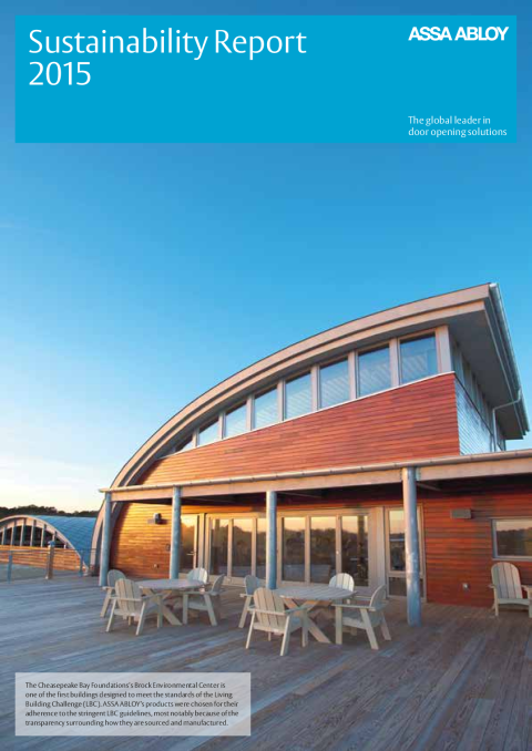 ASSA ABLOY Sustainability Report