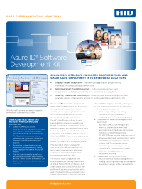 Asure ID® Software Development Kit Datasheet