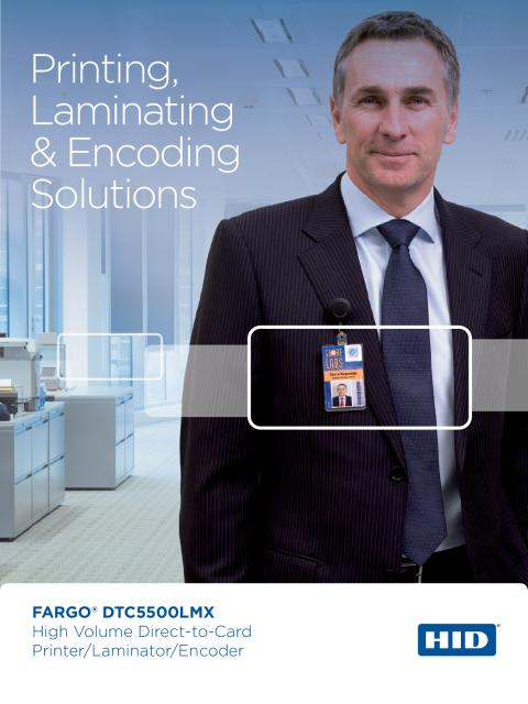 FARGO® DTC5500LMX Printer Brochure