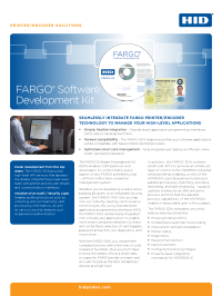 FARGO Software Development Kit Datasheet