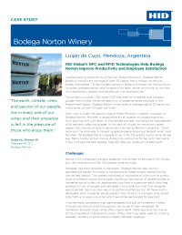 Bodega Norton Winery Case Study
