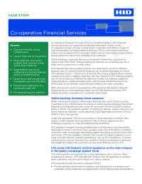 Identity Assurance Co-Operative Financial Services Case Study