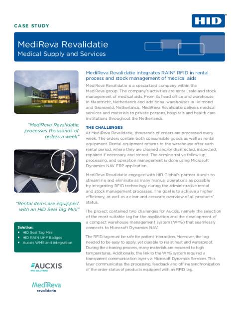 MediReva Revalidatie Case Study