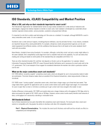 ISO Standards, iCLASS Compatibility White Paper