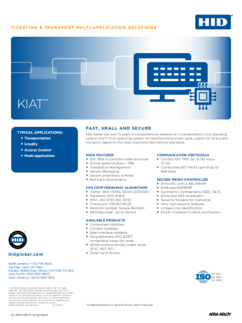 KIAT™ Chip Operating System
