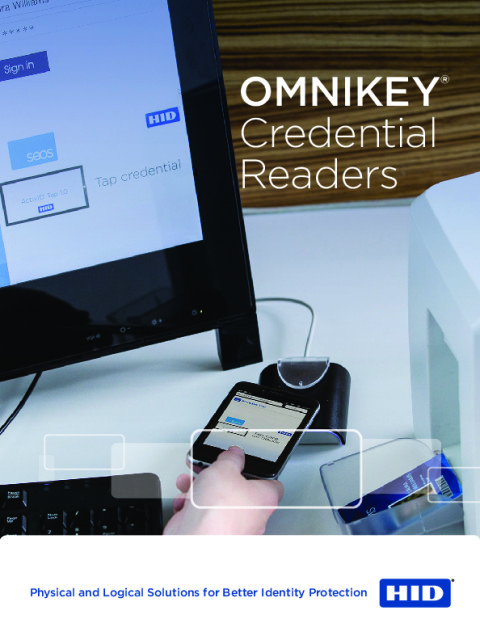 HID OMNIKEY Credential Readers Brochure
