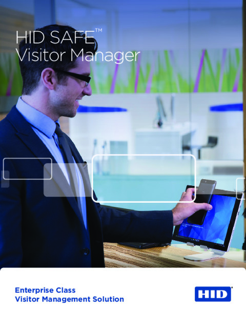 HID SAFE™ Visitor Manager Brochure