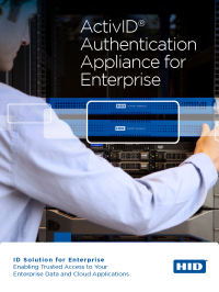 ActivID Authentication Appliance for Enterprise