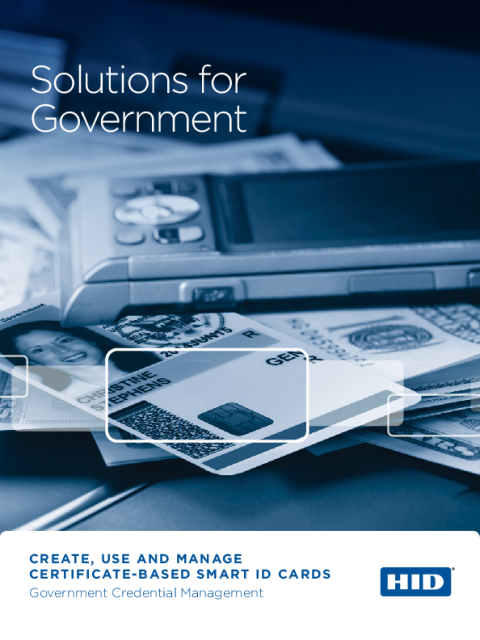 Solutions for Government Brochure