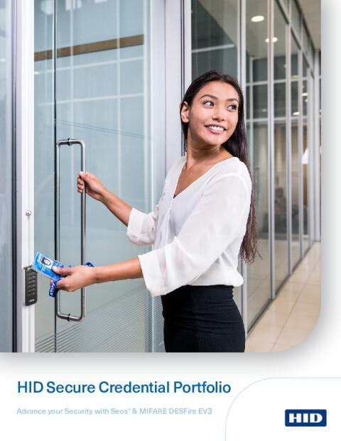 HID Secure Credential Portfolio Brochure
