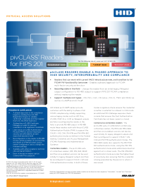 pivCLASS Transitional Readers Datasheet