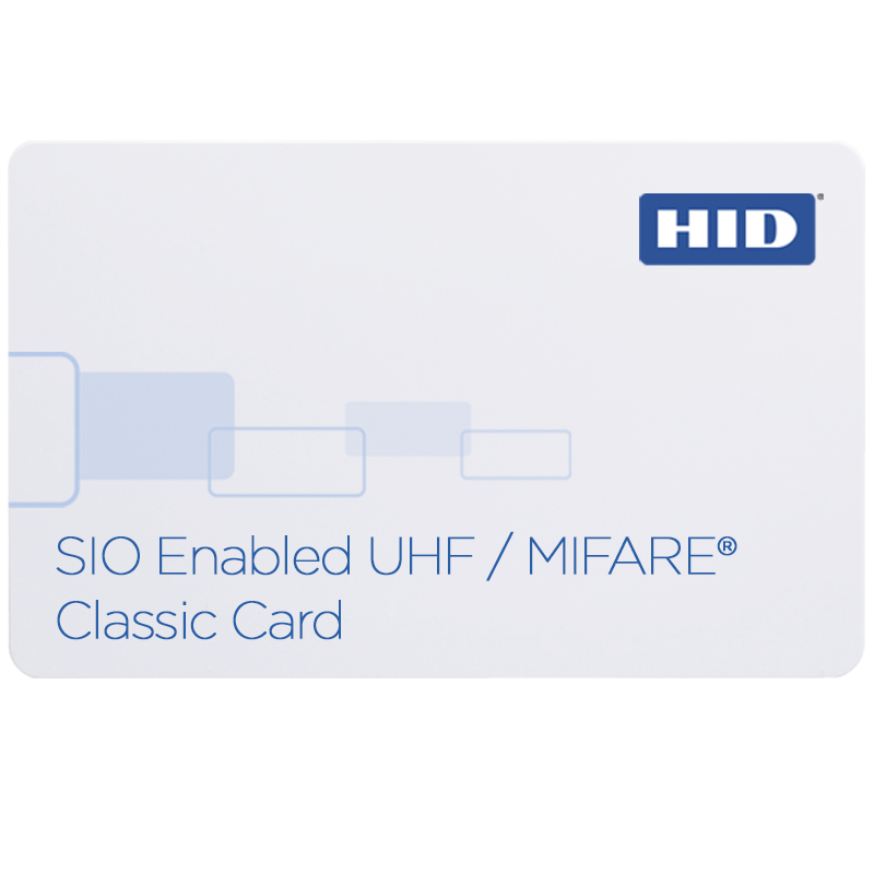 HID® iCLASS SE® SIO®-enabled UHF/MIFARE® 603X Classic Card