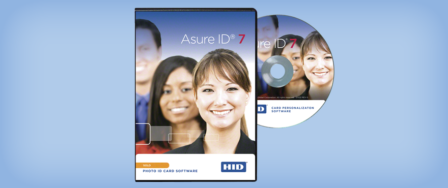 Asure id express credential management and personalization for Asure id templates