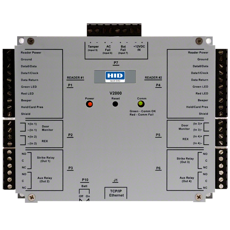 v2000 evo_1 hid� vertx� evo v2000 reader interface networked controller hid hid edge evo wiring diagram at bayanpartner.co