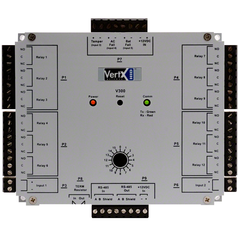 hid u00ae vertx u00ae v300 output control interface
