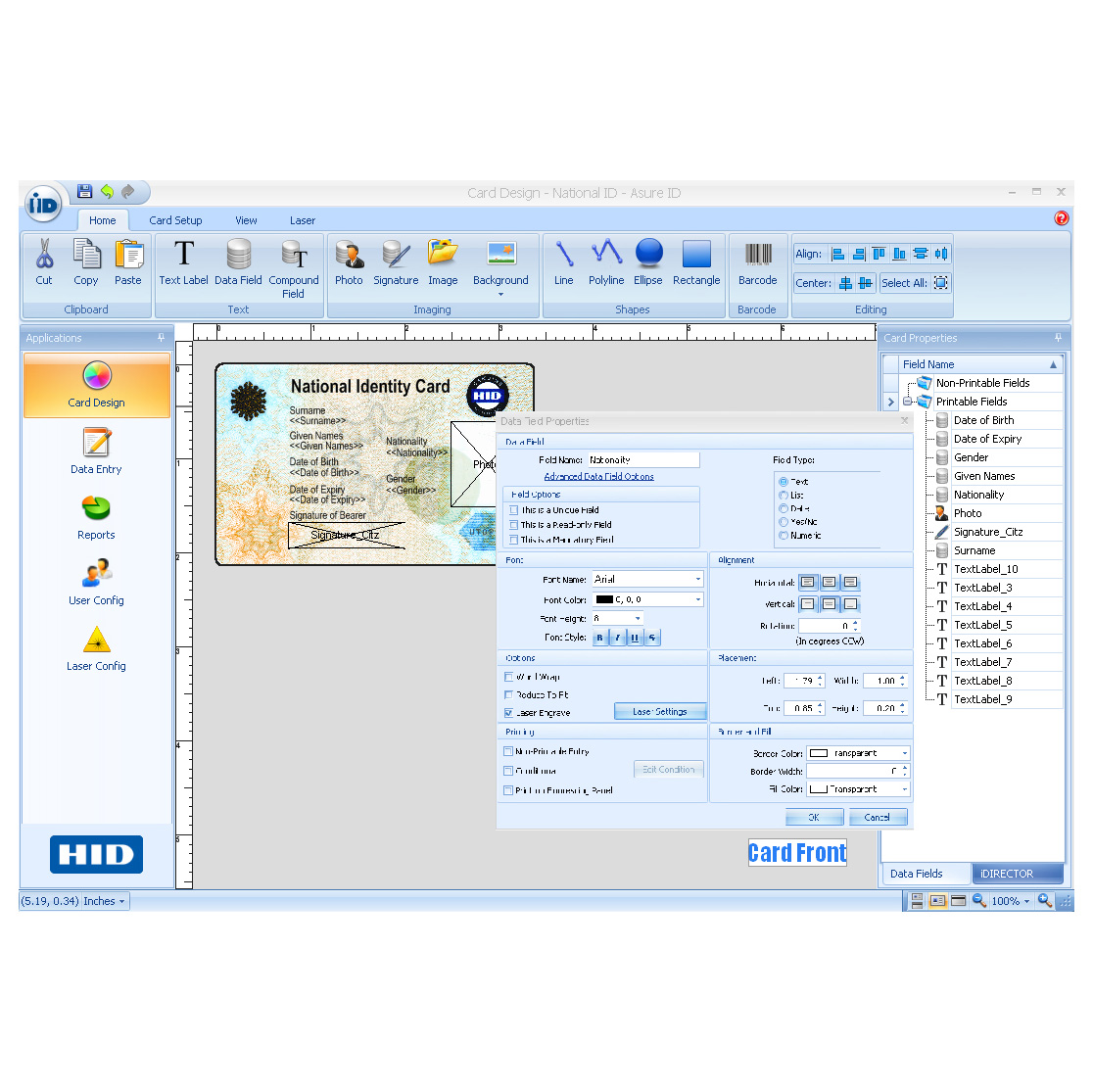Asure Id Express Credential Management And Personalization Solution Hid Global
