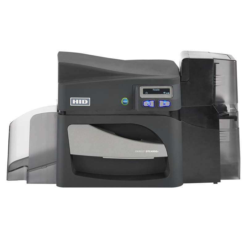 HID® FARGO® DTC4500e High Capacity Plastic Card Printer & Encoder